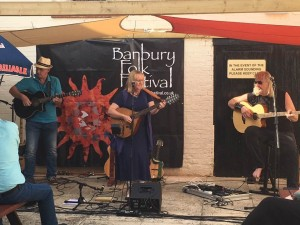 Linda Watkins Band at Folk in the Courtyard Banbury